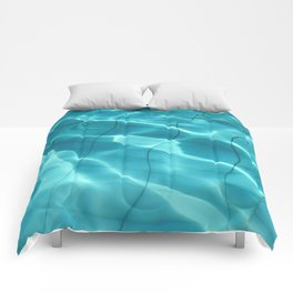 Water / H2O #54 Comforters