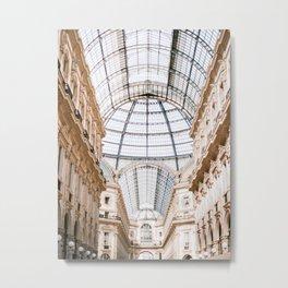 Galleria Vittorio Emanuele Italy  Metal Print