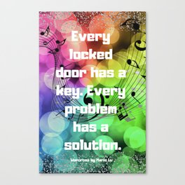Warcross Quote Canvas Print