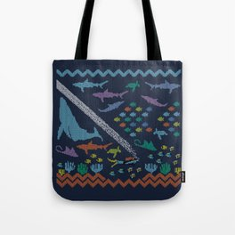 Scuba diving – Knitted ecosystem Tote Bag