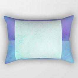 Square Composition XI Rectangular Pillow