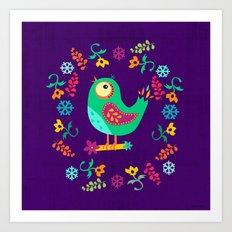 Birdy II Art Print