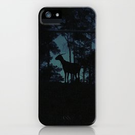 Goat in the Darkness iPhone Case