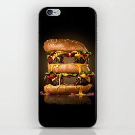 B for Burger iPhone Skin