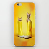 kittens iPhone & iPod Skins featuring KITTENS by I Love Decor
