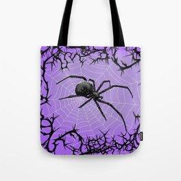 Briar Web- Purple Tote Bag