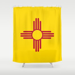 Flag of New Mexico - Authentic High Quality Image Shower Curtain