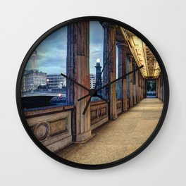 Window To The Other World Wall Clock