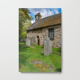 St Michael's Church Betws y Coed Metal Print