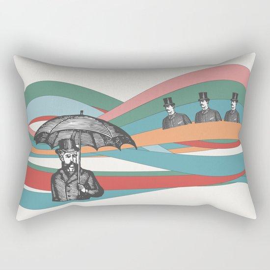 Riding the Waves Rectangular Pillow
