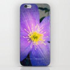FLOWER N71 iPhone & iPod Skin