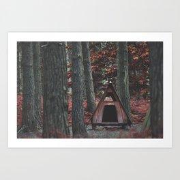 Forest Hut - Nature Photography Art Print