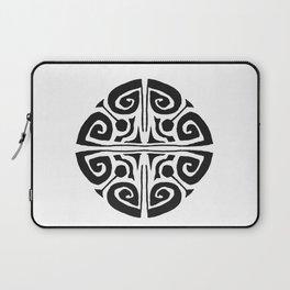 Tatouage Rond - round tatoo mandala - 3 Laptop Sleeve