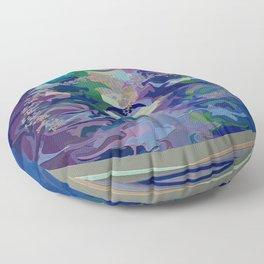 Meditating... Floor Pillow