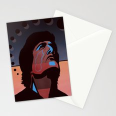 Abstract Rendez Vous Night Stationery Cards