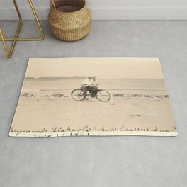 Love on a Bicycle Rug