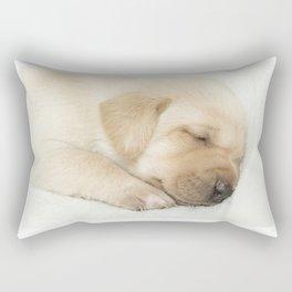 Sleeping labrador puppy Rectangular Pillow