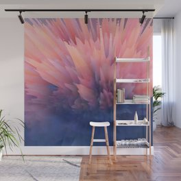 Abstract Clouds Wall Mural