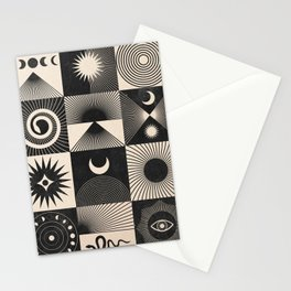 Esoteric Patchwork  Stationery Cards