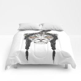 Warrior lion Comforters
