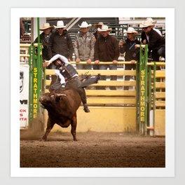 Strathmore rodeo Art Print
