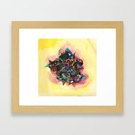 On Every Frequency Framed Art Print