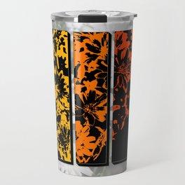 Pop Art Prism of Colors Desert Chicory Coachella Wildlife Preserve Travel Mug