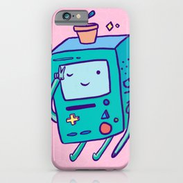 Flower Pot Beemo! iPhone Case