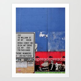 Street Collage II Art Print