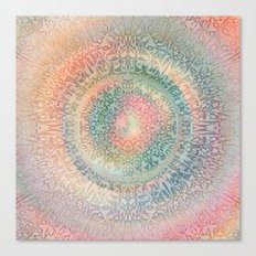 Pastel Mandala Canvas Print