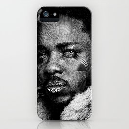 KENDRICK LAMAR--Pop Art II iPhone Case