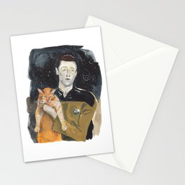 Data and Spot Stationery Cards