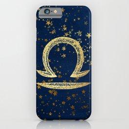 Libra Zodiac Sign iPhone Case