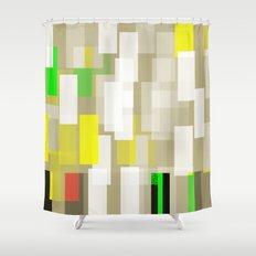 Greige Shower Curtain