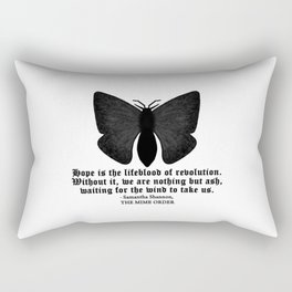 HOPE IS THE LIFEBLOOD OF REVOLUTION... Rectangular Pillow