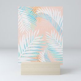 Tropical bliss - palm springs Mini Art Print