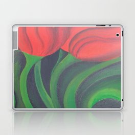 Red Tulip Diptych Laptop & iPad Skin