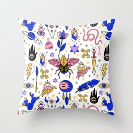 Magic pattern no1 Throw Pillow