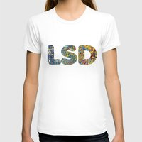 lsd T-shirts featuring Simply LSD by Teo Sharkson