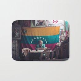 Bar Las Delicias- Caracas - Venezuela Bath Mat