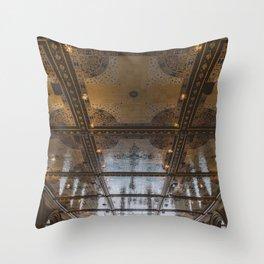 Bethesda Terrace Throw Pillow