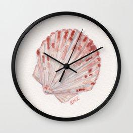 beach shell Wall Clock