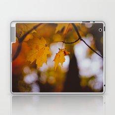 October Orange Laptop & iPad Skin