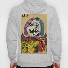 Pablo Picasso - Bust of a man 1969 - Digital Remastered Edition Hoody