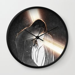 Light is in our hearts. Wall Clock