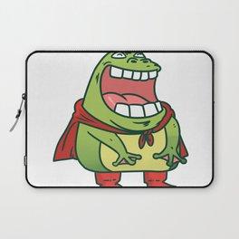 superhero frog Laptop Sleeve