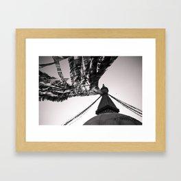 Boudhanath Framed Art Print