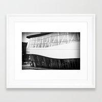 mercedes Framed Art Prints featuring MERCEDES-BENZ MUSEUM by GL-ART-PHOTOGRAPHY