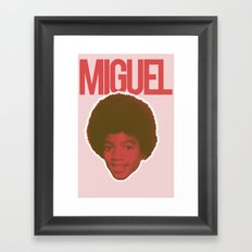 Miguel Framed Art Print