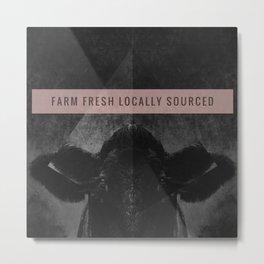 Farm Fresh locally sourced Metal Print